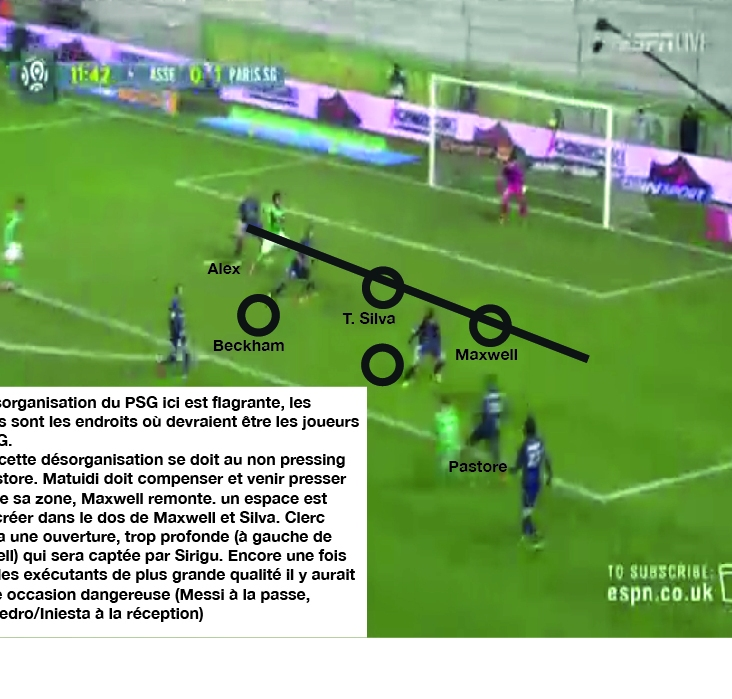 St Etienne PSG analyse 3