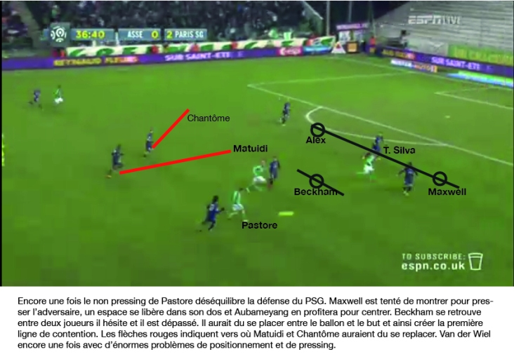 St Etienne PSG analyse 4