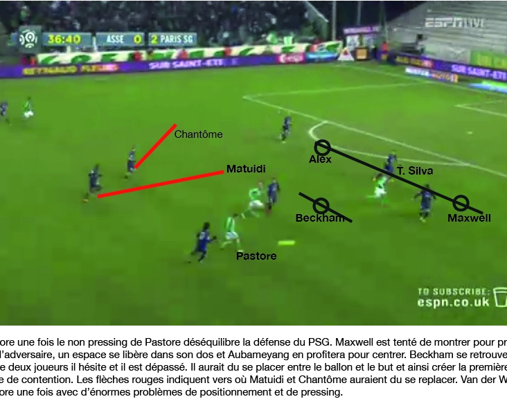 St Etienne PSG analyse 4